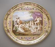 1813 French Sèvres Tray at the Metropolitan Museum of Art, New York