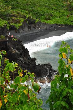 Waianapanapa State Park, Maui, Hawaii