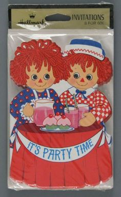 ... Raggedy Ann & Andy Birthday