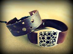 Leather Bracelet, DIY