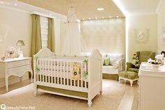 quarto bebê provençal creme verde