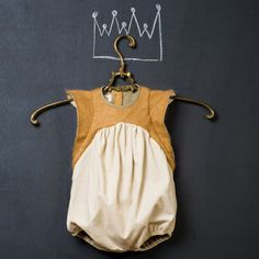 Love the sleeves. Gorgeous, vintage-inspired baby clothes by Popelin. #babyfashion