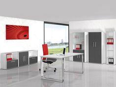 13-teiliges Set Büromöbel Kerkmann Aveto