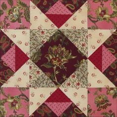 Civil War Quilts: Threads of Memory 9: Lancaster Star for Deborah Simmons Coates