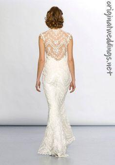 Gorgeous Claire Pettibone gown #bride #apparel