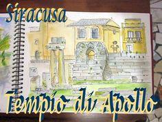 Apollo & Artemis in Siracusa In Ancient Times, Ancient Greek, Apollo And Artemis, Three Bridges, Roman Republic, Greek History, City State, Corinthian, Byzantine