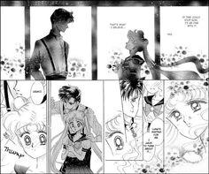 Usagi and Mamoru scene