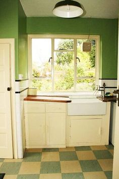 Retro Kitchen Tile kitchen in mint condition | tile flooring, doors and kitchens