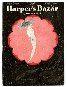 Harper's Bazaar, jan 1927, Erte