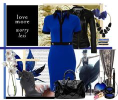 """""""Blue for You"""" by awsome-j-cossin ❤ liked on Polyvore"""