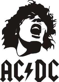 AC/DC - Vinyl Decal Sticker.