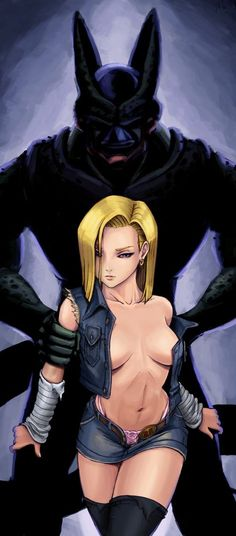 Android 18 - More at https://pinterest.com/supergirlsart/ #android18 #18 #a18 #dragonballz #dbz #db #dragon #ball #dragonball #anime #girl #cell