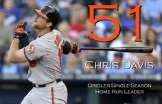 Chris Davis - Orioles Single Season Home Run Leader #51 (9/17/13)