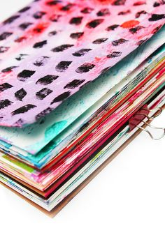 alisaburke: make a $5.00 art journal
