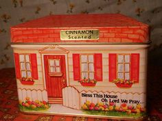 Tin Candle House GiftCo Cinnamon Scent Vintage by FruitDream