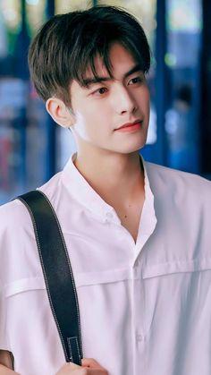 Korean Haircut Men, Asian Men Hairstyle, Asian Hair, Hot Korean Guys, Cute Asian Guys, Song Wei Long, Most Handsome Actors, Boys Long Hairstyles, Guy Hairstyles