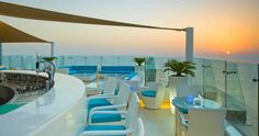 Pure Sky Lounge, Hilton Dubai.