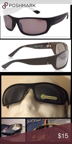 Field n Stream Men Polarized Wrap Sport Sunglasses Foster Grant - Field n Stream Men's Sport Wrap Fully rimmed Sunglasses Heavy gauge polarized lenses reduce glare n eye strain Scratch resistant lens coating protects against drops n scuffs Double injected rubber components for a perfect fit  💯Brand new HIGH QUALITY 💯What u see is what u get ⚡Next day ship⚡ ✔Offers welcome on items $13+ 🚫No Trades 💖Just got💍engaged 💍 5-21 - 3yrs Long distance, we r working Very hard to be together…