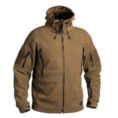 Однотонная куртка из флиса