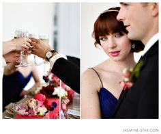 I like the perspective of the shot on the right.  Jasmine Star Foundation of Love : Styled Wedding Shoot
