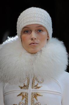 Close up défilé Christophe Josse haute couture automne-hiver 2013-2014 Paris