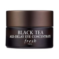 Shop Fresh's Black Tea Age-Delay Eye Concentrate at Sephora. This cooling formula diminishes and prevents signs of aging while visibly firming the eye area.