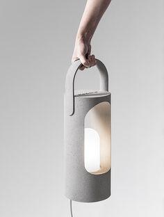 Rolling lamp designed by Ramon Ubeda y Otto Canalda for Metalarte