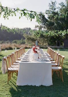La Tavola Fine Linen Rental: Tuscany White with Tuscany White Napkins | Photography: Lacie Hansen, Planning & Design: Callista & Co, Florals: Lambert Floral Studio, Venue: Ventana Big Sur, Paper Goods: Claire Goldschmidt, Rentals: Theoni Collection