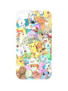Pokemon Character Collage iPhone 4/4S Case