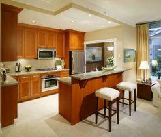 dapur mungil minimalis modern