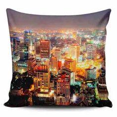 Cojin Decorativo Tayrona Store Ciudad Nocturna 55 - $ 43.900