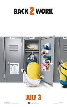 Despicable Me 2. July 2013. Repin if you love minions!
