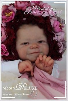 ~Prototype~ James by SANDY FABER so sweet reborn girl by rebornDELUXE doll