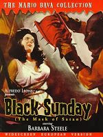 Generally considered to be the foremost example of Italian Gothic horror, this darkly atmospheric black-and-white chiller put director Mario Bava on the international map and made the bewitching Barbara Steele a star. Steele plays Princess Asa, a high priestess of Satan who is gruesomely executed in 1600s Moldavia by having a spiked mask hammered into her face. Before she dies, Asa vows revenge on the family who killed her and returns from the grave two centuries later to keep her promise…