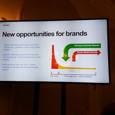 At the extreme the only 'free' content available on the web will be brand funded content  #iccosummit