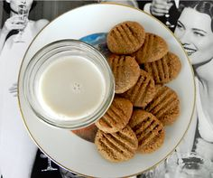 Guiltless Peanut Butter Protein Cookies