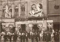 "Inaugurarea berăriei ""La Calul Bălan"" de pe bulevardul Elisabeta,1925 Timeline Photos, Movies, Movie Posters, Painting, Art, Bucharest, Art Background, Film Poster, Films"