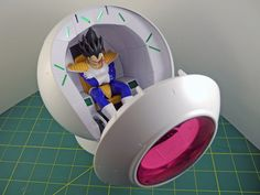 Figure Build Close-up: Vegeta's Saiyan Space Pod       Anime News Network's merchandise coverage sponsored by Tokyo Otaku Mode.       Figures are provided courtesy of Blue Fin Distributors  Who says ...