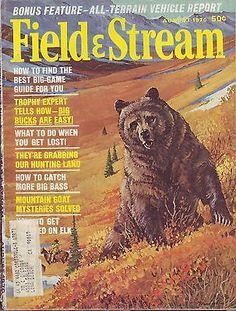 8 1970 Field Stream Magazine | eBay