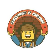 Everything is Awesome T-Shirt A tribute to The LEGO Movie! Everything is Awesome T-shirts are what Lego movie fans need! Get this super cute design in your T-shirt drawer right now. The post Everything is Awesome T-Shirt appeared first on Barbara Ritchie. Lego Film, Lego Movie, Funny Kids Shirts, Cool T Shirts, Lego Shirts, Geile T-shirts, Navy Blue T Shirt, Lego Birthday, Birthday Ideas
