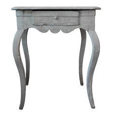 Swedish Table with Cabriole Legs | From a unique collection of antique and modern end tables at https://www.1stdibs.com/furniture/tables/end-tables/
