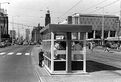 Tramhuisje Coolsingel begin jaren'70