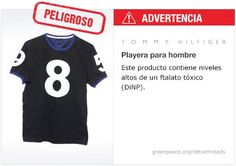 Tommy Hilfiger Playera   #Detox #Fashion