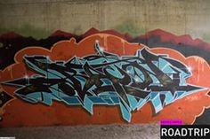Graffiti Creator:Bacon / Toronto / Walls Graffiti. We love the bombing that adds an additional layer of paint to your walls and structures, for the rust protection you know.