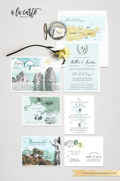 Sri Lanka Ceylan India Asia Indian Destination Wedding Invitation
