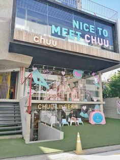 Lo and behold, right across the street is the Chuu flagship store! I myself am partial to the clothes I found in Chuu over these past few weeks. The store design is much more whimsical and again, every part of the building is photo friendly.