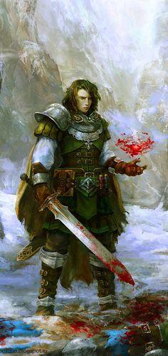 Blood Magic by Allnamesinuse on DeviantArt (detail)