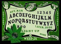 Weed Ja The High Spirited Talking Board, Icup Inc., Croydon, Penn., 2010