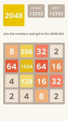 I scored 12332 points at 2048, a game where you join numbers to score high! @2048_game https://itunes.apple.com/app/2048/id840919914