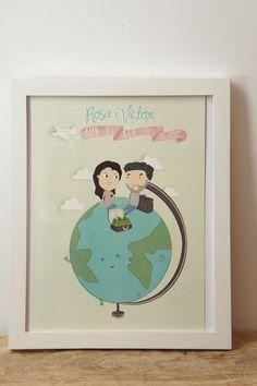 ·lelelerele|handmade·: Rosa y Victor